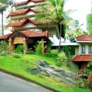 wayanad green gates hotel outer view