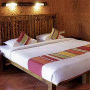 bansura eco resort earth-room