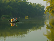 coracle on river cauvery by orange county coorg