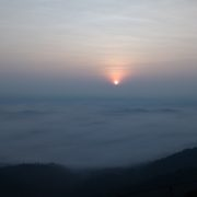 The first ray of sun - View from Wayanad