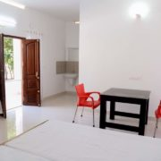 Wayanad farmstay cottage living area