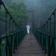 Hanging bridge vythiri village wayanad