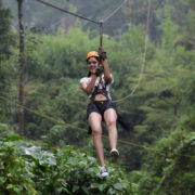 zipline at vythiri village wayanad