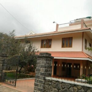 kodai homestay outside view
