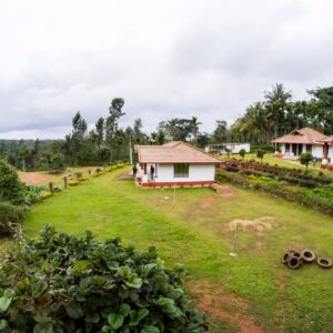Coorg heritage inn outside view