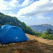 Camping at vagamon view